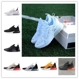 pretty nice 93ba7 db145 Nike 2018 air max airmax 270 Francés dos estrellas Hombres Zapatos max  Negro Blanco Cushion Triple Hombres Zapatillas Moda aire Atletismo  Zapatillas ...