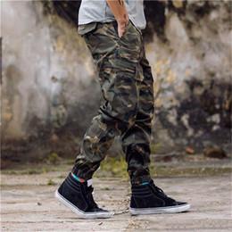 83722737d5 New Arrival Mens Pants Fashion Camouflage Jogging Pants Womens Zipper  Overalls Beam Foot Trousers Irregular Joggers Pants