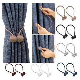 2020 tende alle spalle 1pc Magnetic Curtain Tie Backs Hook Fibbia domestica utile strumento di decorazione Tieback Kissme conveniente tende alle spalle economici