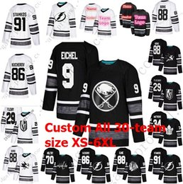 Discount 5xl hockey jerseys - Custom 2019 All Star Game Jersey Adult Kids  XS-6XL 64da3539b
