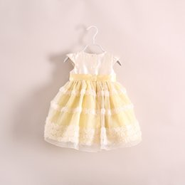 2019 grandes vestidos de noiva estilo princesa 1-6 ANOS Meninas bebê tridimensional flor lace dress vestidos de princesa crianças shoes manga vestido criança one piece-dress roupas de marca