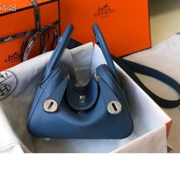 Blaue kastenlieferung online-Frauenhandtasche Trend Persönlichkeit blau Paketgröße 20cm WSJ012 Lieferung Geschenkkarton whatsyan01