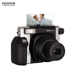 2019 bateria do filme Instax WIDE300 Instant Camera Filme Wide Picture Format com 40 Folhas 86x108mm filmes Bateria Wrist Strap Presente de Natal desconto bateria do filme