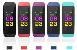 rastreador de celular android Desconto 115 plus smart watch pulseira de fitness rastreador pedômetro smartwatch bluetooth pulseira de relógio para ios iphone apple android telefone celular dhl livre