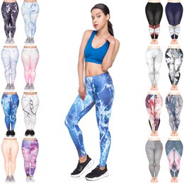 fd866ad71e7aa8 Women Leggings Mix 16 Styles Geometric Wood Holographic Marble Stripes 3D  Print Sportwear Pencil Fit Girl Runner Skinny Yoga Pants (JL206)