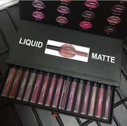 Canada Huda Beauty maquillage Liquide Mat Lipgloss Maquillage Long Lasting Imperméable Liquide Rouge À Lèvres cosmétique 1516 Couleurs Set shipp gratuit Offre