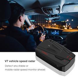 2019 nouvelle voiture Car Electronics 16 bandes V7 conduite sécuritaire Avertissement d'alerte vocale anti-vitesse non GPS ? partir de fabricateur