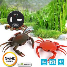 Mini-crabe réaliste télécommande RC Prank jouet effrayant effrayant insecte ? partir de fabricateur