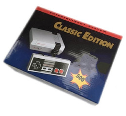 Argentina Classic Game TV Video Handheld Console El más nuevo sistema de entretenimiento Juegos clásicos para 500 nuevas ediciones Modelo NES Mini consolas de juegos dhlfree Suministro