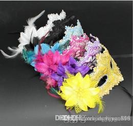 rosas de cuero Rebajas Venta al por mayor de máscaras de fiesta de baile enmascaradas de Halloween para máscaras de rosas de cuero.
