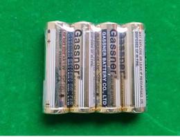 Batería de la chaqueta online-500 unids / lote 1.5 V LR6 AM3 2 * A 2A Baterías alcalinas superpoder Golden Jacket 100% Fresco para juguetes de linterna