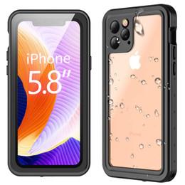 2019 slim fit iphone Redpepper para iPhone 11 Pro Estuche estanco al agua Serie Dot Slim Fit IP68 Certificado A prueba de golpes Suciedad Cubierta de armadura a prueba de nieve para iPhone 11 Pro rebajas slim fit iphone
