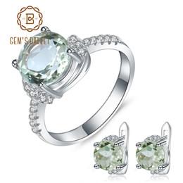 Schmuck & Zubehör Klassische Neue Blau Zirkon Frauen 925 Sterling Silber Schmuck Sets Halskette Anhänger Ohrringe Ring Tz0405