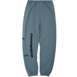 27dbc66ff23 Chinese 2018 Best Quality Kanye West Calabasas Embroidery Women Sweatpants  Joggers Hiphop Streetwear Men Pants Trousers