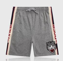 Доска тигра онлайн-19S tiger Board Shorts мужские летние пляжные шорты брюки высококачественные купальники Бермуды мужской письмо Surf Life мужчины чистый хлопок шорты пляжные брюки