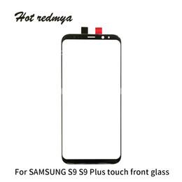 50шт Оригинальная замена внешнего стекла для Samsung Galaxy S8 G950 S8 Plus S9 S9 Plus Сенсорный ЖК-экран Переднее стекло Внешняя линза Бесплатный DHL от