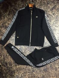 Argentina Chaqueta de marca Medusa, diseñador de lujo, impresión de letras, ropa de hombre, ropa deportiva, ropa deportiva, chaqueta de hombre, sudadera informal. # 111 cheap zip suit jacket Suministro