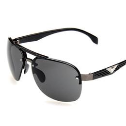 Canada Lunettes de soleil de conduite de la mode masculine 2018 UV400 miroir lunettes lunettes pour hommes lunettes de soleil marque lunettes hommes cheap eyeglass goggles Offre