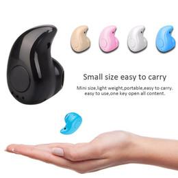 маленькая гарнитура для мобильного телефона Скидка S530 Легкий Вес Беспроводные Наушники Bluetooth Наушники Наушники С Микрофоном Мини Невидимый Спорт Стерео Bluetooth-Гарнитура