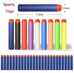 Pistolas eva online-Nueva serie de juguetes para jugar al aire libre Recargar Clip Dardos pistola de juguete eléctrico juguetes bala 10color 4141-2