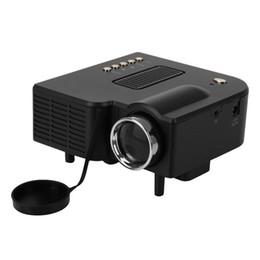 UC28 Multimédia Portable Mini HD Led Projecteur Cinéma Théâtre Support Pc Ordinateur Portable Entrée HDMI VGA et SD USB AV avec Télécommande ? partir de fabricateur