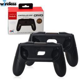 jogo pmp 4gb Desconto Controlador de consola de jogos Grips para Nintendo Switch Joy Con Controlador Conjunto de 2 Punho Conectores de Mão Conforto Kits Titular Shell