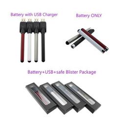 Красочные O.pen Vape бутон сенсорный аккумулятор с USB-зарядное устройство 510 нить для CE3 картриджей для ручек испарителем e картридж сигарет испарителем от