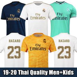 19/20 футболки «Реал Мадрид» трикотажные изделия футбола для дома 2019 2020 HAZARD camiseta de fútbol 2019 2020 VINICIUS ASENSIO футболка детская футболка camisa de futebol от