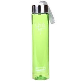 бутылки с водой зеленого цвета Скидка 280 мл портативный прозрачный велосипед Велосипед Спорт небьющиеся пластиковые бутылки с водой(цвет: зеленый)