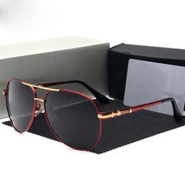 MercedesBenz 742 Nuevo Diseñador Popular Gafas de Sol Montura Cuadrada Avanzada gafas de producción de tablones Hombres de negocios Gafas VU400 de protección desde fabricantes
