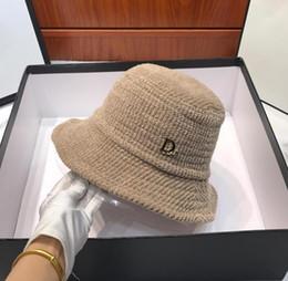 Modelos de chapéu de praia on-line-DHL Mulheres Moda Luxo Marca Outono Inverno Nova limitada Diorss Fisherman Hat Modelo 18584 Beach Sun Visor Folding Bowler Cap 101530
