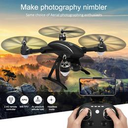 HINST Siyah LE FIKIR LD-220 Katlanabilir 2.4 Ghz 2MP WiFi FPV 720 P HD RC Quadcopter Özçekim Drone Destek Hava Fotoğrafçılığı Dec29 nereden bisikletle takılan telefon tutacağı tedarikçiler