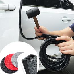 Universal 4PCS Car Door Edge Guard Strip Scratch Protector Anti-collision Trim