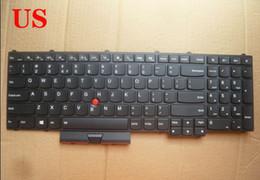 2019 laptop tastiere arabi Nuova tastiera per laptop per layout LENOVO THINKPAD P50 P70 US / FRENCH / JAPANESE / ARABIC / HEBREW sconti laptop tastiere arabi