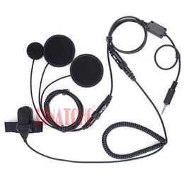 Scheitelkopfhörer online-Finger PTT Yeasu Vertex VX-6R VX-7R VX-127 VX-170 VX-177 Motorradhelm Walkie-Talkie-Funk-Headset