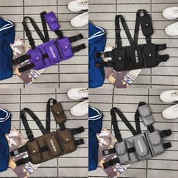 mejor equipo de edc Rebajas Bolsa de pecho Moda engranaje táctico funcional del hombro ajustable Bolsa de alta calidad de los hombres en el pecho cintura del paquete de paquetes de EDC chaleco bolsa mejores regalos M287Y