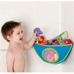2019 armazenamento de brinquedos de parede Brinquedo do banheiro Otário Saco De Armazenamento De Parede De Banho Pendurado Sacos de Armazenamento Pendurado Kid Toy À Prova D 'Água Oxford Pano Triângulo Organizador Saco DBC DH0956 armazenamento de brinquedos de parede barato