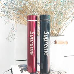 Длинный стиль чашка воды Простая буква S мужчины и женщины чашка кофе богиня творческий лазерная печать вакуумная чашка 300 мл от