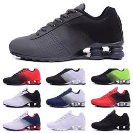 2019 homens, correndo, sapato, shox Nike Shox 809 2019 Shox Entregar 809 Homens Tênis de Corrida Drop Shipping Atacado Famoso DELIVER OZ NZ Mens Tênis Esportivos Running Shoes 40-46 homens, correndo, sapato, shox barato