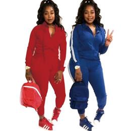 tuta sportiva Sconti donne felpa con cappuccio legging 2 pezzi set abiti manica lunga giacca tuta sportiva pantaloni tuta sportiva tuta sportiva set sportivo hot klw0262