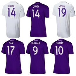 Orlando city on-line-2019 2020 MLS Orlando City camisa de futebol KAKA thai qualidade HOME longe DWYER COLMAN J. MENDEZ NANI MUELLER ESPECTOR Orlando Camisa De Futebol