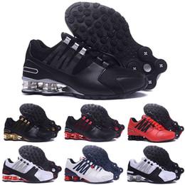 2020 uomini che esercitano scarpe shox Nike SHOX Avenue 802 2018 nuovi uomini economici Avenue Classic 803 consegnare Oz Chaussures Femme scarpe da corsa Allenatore sportivo Cuscino da tennis Sneakers taglia 40-46 sconti uomini che esercitano scarpe shox