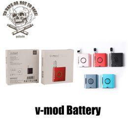 Vapmod Vmod batteria mod vape mod mod 900mAh preriscaldare batteria 90mins ricarica veloce E sigarette mod PALM LOKEY PALM batteria da