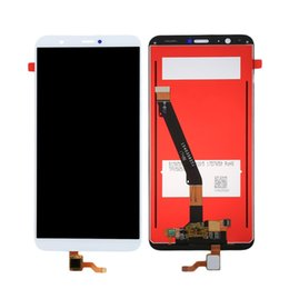 parts for huawei Promo Codes - 10Pcs LCD Display for Huawei P Smart Enjoy 7S LCD Screen Digitizer Touch Panel Assembly Phone Parts