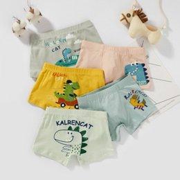 meninos cueca rosa Desconto Baby Kids Designer Underwear Boys Girls Fashion Cartoon Boxers Briefs Brand Printed Cartoon Baby Shorts Boxers Children Luxury Panties 2020
