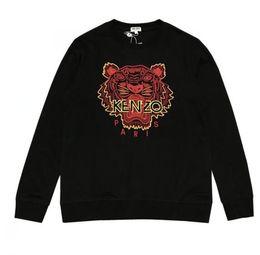 Hoodie de yeezus on-line-19ss de alta qualidade Bordado tigre cabeça Hoodie Homens Hip Hop Kanye West skate Yeezus Designer de moletom com capuz