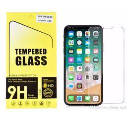 Canada 9H Trempé Verre pour iphone XR XS MAX X Protecteur d'écran en verre trempé iPhone X 8 8 Plus Iphone 6 7 Plus Offre