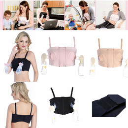 0cccebe2ac Maternity Nursing Underwear No steel ring Bra for Nursing Push Up Hands  Free Breast Pumping Bra Pregnant woman Breast Feeding Bra AAA1483