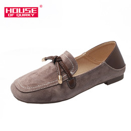 sexy women flat feet Promo Codes - Sexy Hollow Out Women Sandals Casual Shallow Mouth Women Flats Shoes Outdoor Square Head Shoes Suede Set Foot Summer