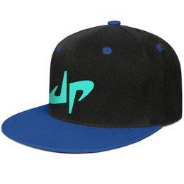 Casquettes sur mesure en Ligne-Logo parfait mec bleu hommes et femmes camionneur casquette design concepteur personnalisé blanc équipé personnalisé chapeaux à bord plat original à la mode
